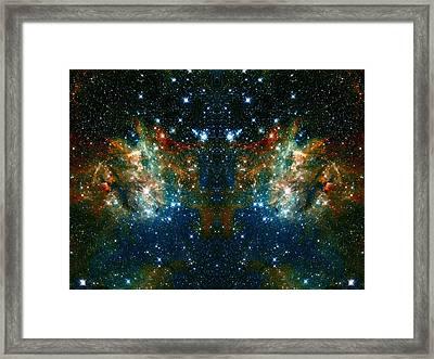 Cosmic Phoenix  Framed Print by Jennifer Rondinelli Reilly - Fine Art Photography