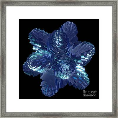 Cosmic Pine Cones By Jammer Framed Print