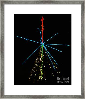 Cosmic Ray Framed Print by C. Powell, P. Fowler & D. Perkins