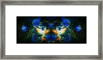 Cosmic Reflection 2 Framed Print by Jennifer Rondinelli Reilly - Fine Art Photography