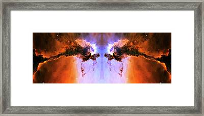 Cosmic Release Framed Print by Jennifer Rondinelli Reilly - Fine Art Photography