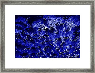 Cosmic Series 002 - Tiny Bubbles Framed Print