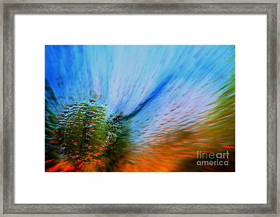 Cosmic Series 006 - Under The Sea Framed Print