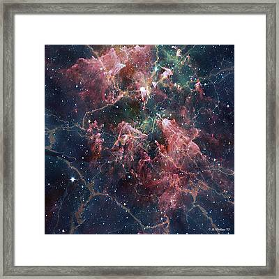 Cosmic Soup Framed Print by Brian Wallace