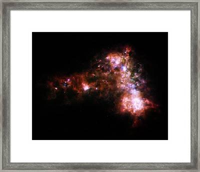 Cosmic Spark Framed Print by Jennifer Rondinelli Reilly - Fine Art Photography