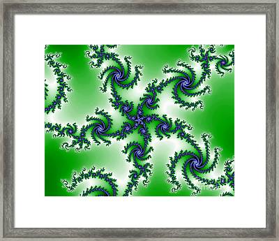 Cosmic Swirls Framed Print