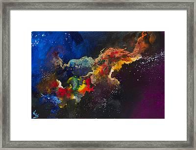 Cosmic Voyage #203 Framed Print by Jonas Gerard