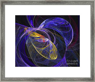 Cosmic Web 1 Framed Print