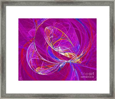 Cosmic Web 3 Framed Print