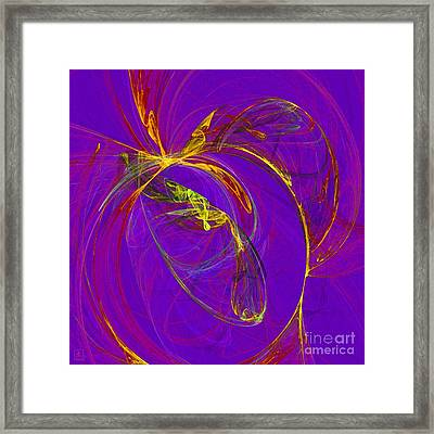 Cosmic Web 4 Framed Print