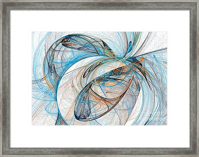 Cosmic Web 6 Framed Print