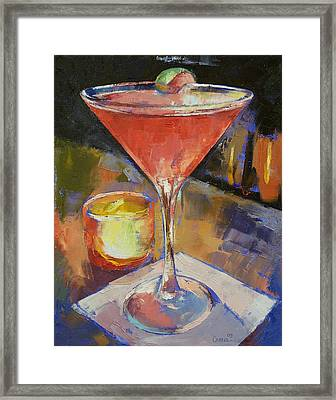 Cosmopolitan Framed Print by Michael Creese