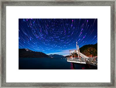 Cosmos Framed Print by Alexis Birkill
