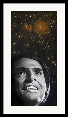 Carl Sagan Framed Prints