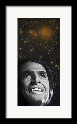 Cosmos Framed Prints
