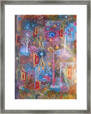 Cosmos Framed Print by Dragoslav Ristic