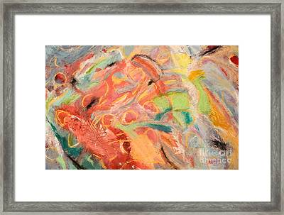 Cosmos Framed Print by Kelly Athena