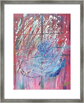 Cosmos Framed Print by Lisa Kramer