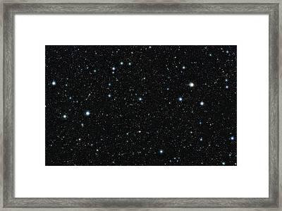 Cosmos Region In Sextans, Vista Image Framed Print