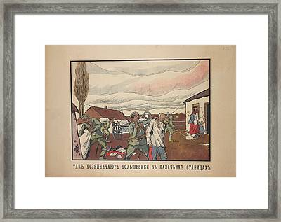 Cossack Villages Framed Print