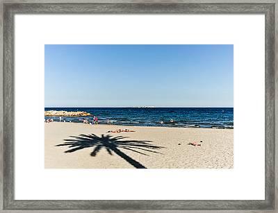 Costa Blanca Framed Print by Tetyana Kokhanets