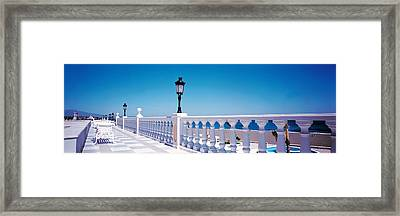 Costa Del Sol Estepa Spain Framed Print by Panoramic Images