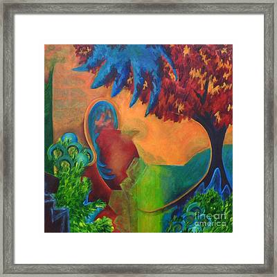 Costa Mango Framed Print