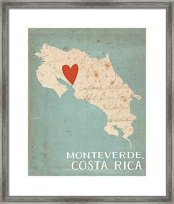 Costa Rica Framed Print by Katie Doucette