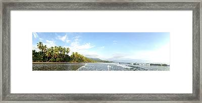 Costa Rica Magic Framed Print by Tropigallery -