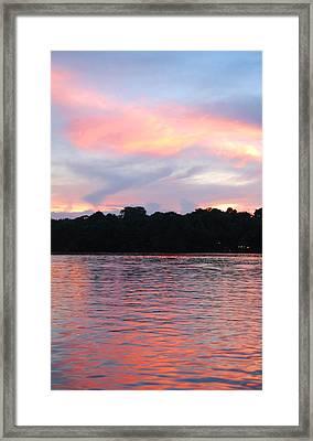 Costa Rica Sunset Framed Print