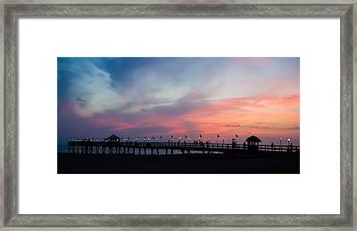 Costa Rican Sunset Framed Print by Adam Romanowicz