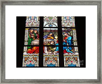 Costly Devotion Framed Print