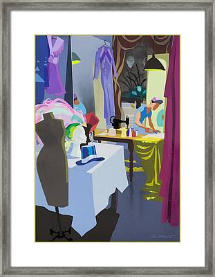 Costume Maker Framed Print