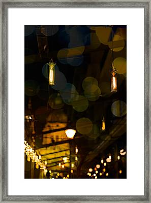 Cosy Lights Framed Print