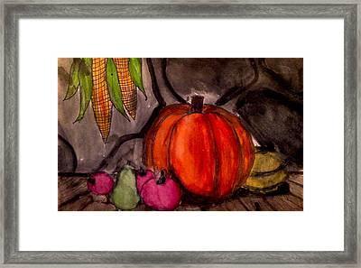 Cotage Framed Print by Sean Vierra