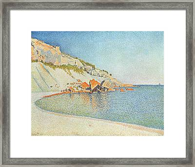 Cote D'azur Framed Print by Paul Signac