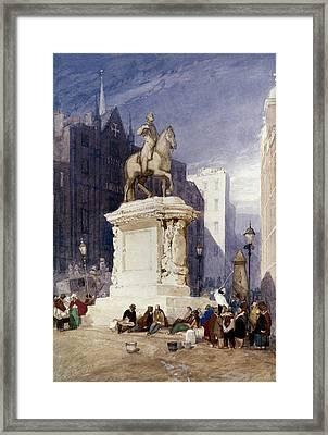 Cotman King Charles Framed Print