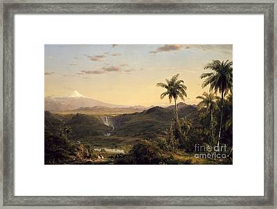 Cotopaxi Framed Print by Celestial Images