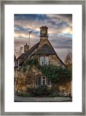 Cotswold Cottage Framed Print by Jennifer Styrsky