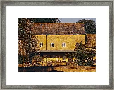 Cotswold Cottage Framed Print
