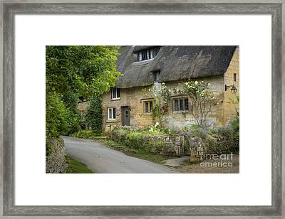 Cotswolds Cottage - Stanton Framed Print