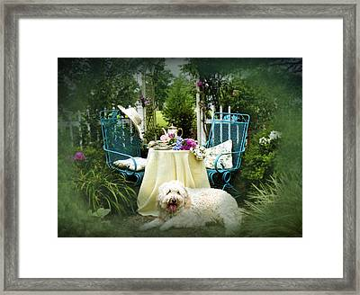 Cottage Bliss Framed Print by Trudy Wilkerson