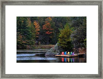 Cottage Country Framed Print by Jim Vance