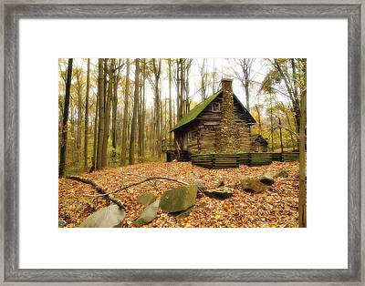 Cottage  Framed Print by Edward Kreis