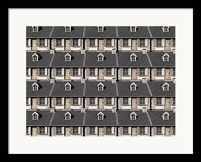 Charming Cottage Digital Art Framed Prints