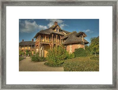 Cottage Versailles Framed Print