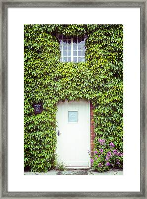 Cottage With Ivy Framed Print by Joana Kruse