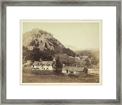 Cottages Framed Print by British Library