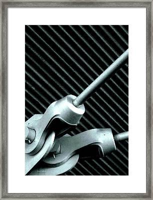 Cotter Pins Framed Print by Steve Godleski
