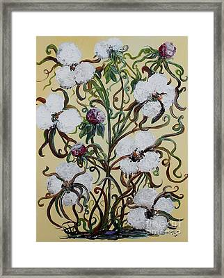 Cotton #1 - King Cotton Framed Print